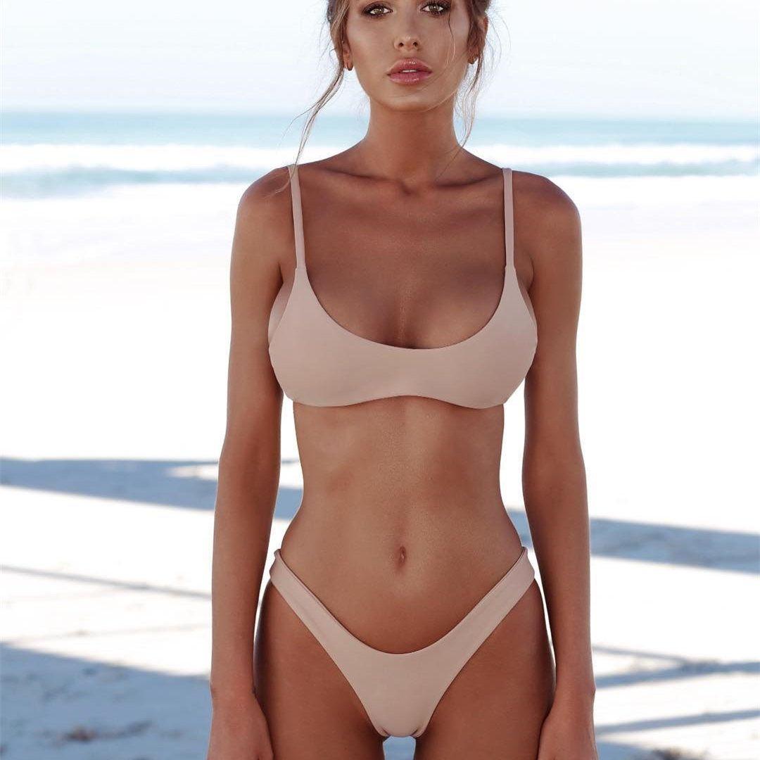 37745393d Compre Sexy Micro Biquíni Swimwear Swimsuit Mulheres 2018 Nova Halter  Brasileiro Conjunto De Biquíni Praia Ternos De Banho Desgaste Biquini De  Top club