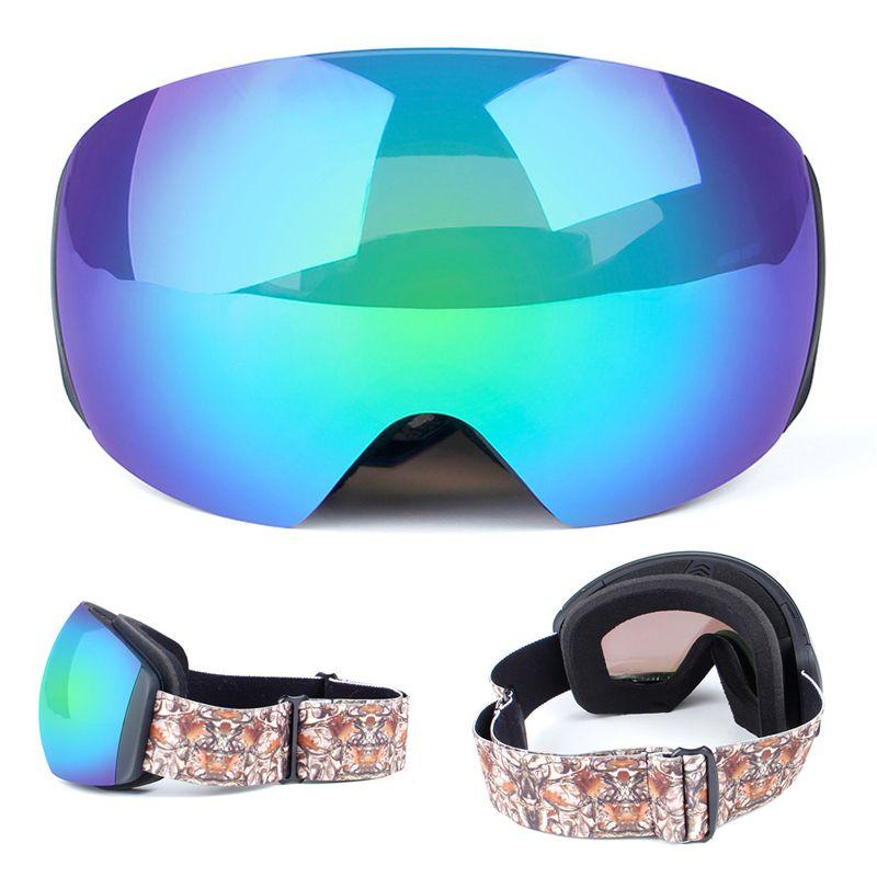 Compre Marca Óculos De Esqui Camadas Duplas UV400 Anti Fog Grande Máscara  De Esqui Óculos De Esqui Homens Mulheres Snow Snowboard Óculos De Sol Óculos  De ... b31bc9979f