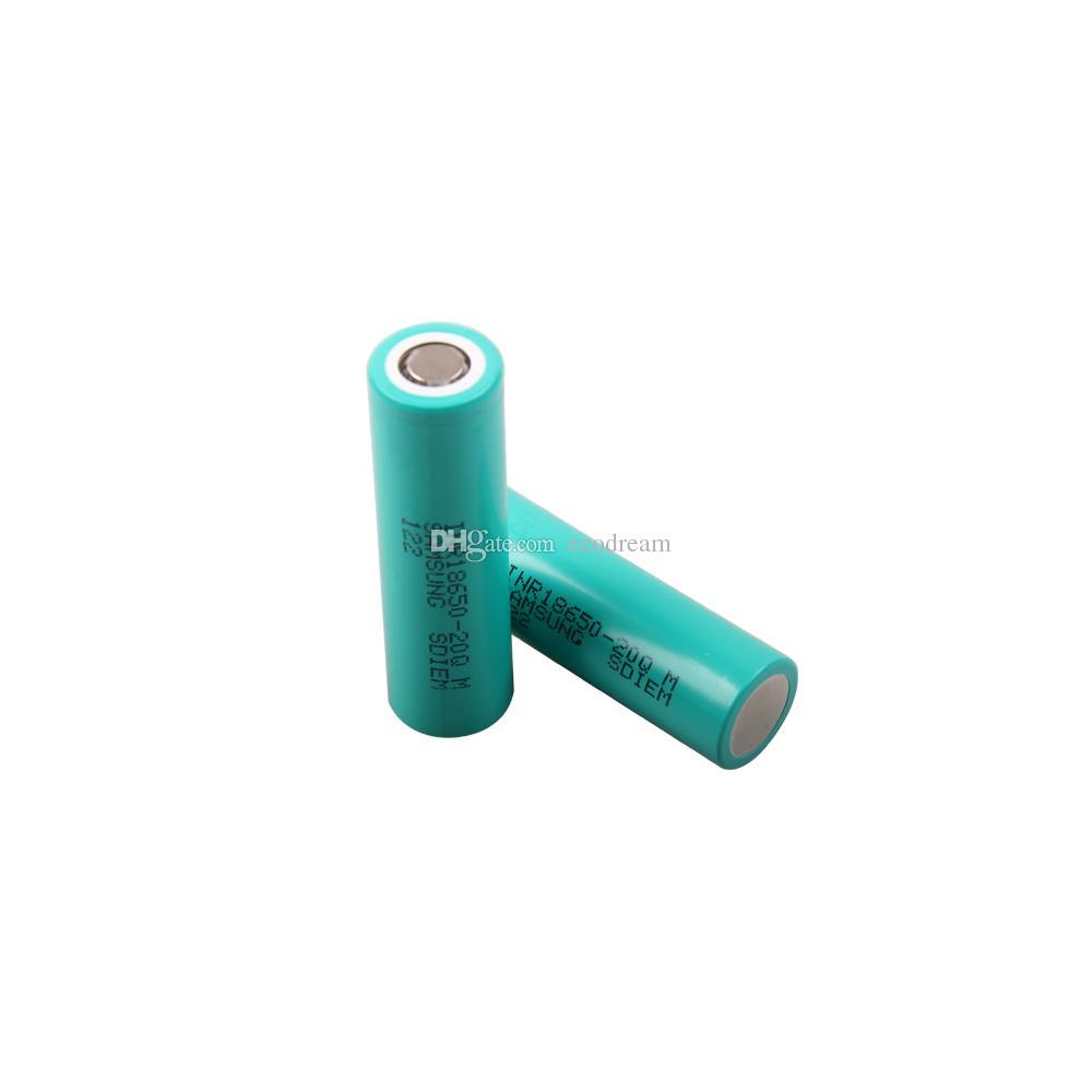 Mejor precio de alto drenaje INR18650-20Q batería de iones de litio 3.7v 2000mah 15A baterías de camión de descarga continua para Samsung
