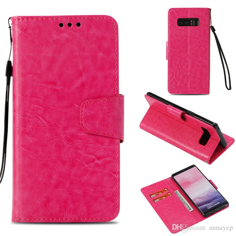 Skin Shell For LG K4 K7 KL8 K10 2017 V20 V30 LS775/Stylus2 3 LS777 K6B Case PU Leather Stand Wallet with Rope Credit Back Card Slot Cover