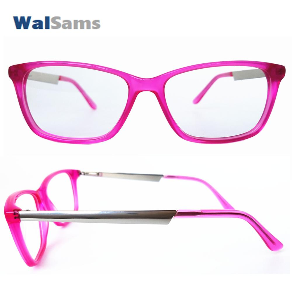 2019 Handmade Acetate Optical Frames With Case Demo Lens With