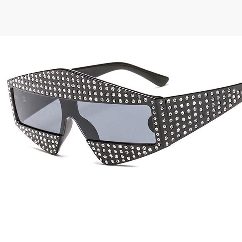 5e8470f99440 Catwalk Shows Square G Sunglasses Shiny Rhinestone Frame Men Women Brand  Glasses Designer Fashion Shades L163 Oversized Sunglasses Best Sunglasses  For Men ...