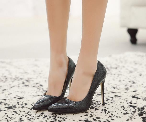women shallow mouth sexy fashion thin heels high heels single shoes dress shoes party wedding shoes