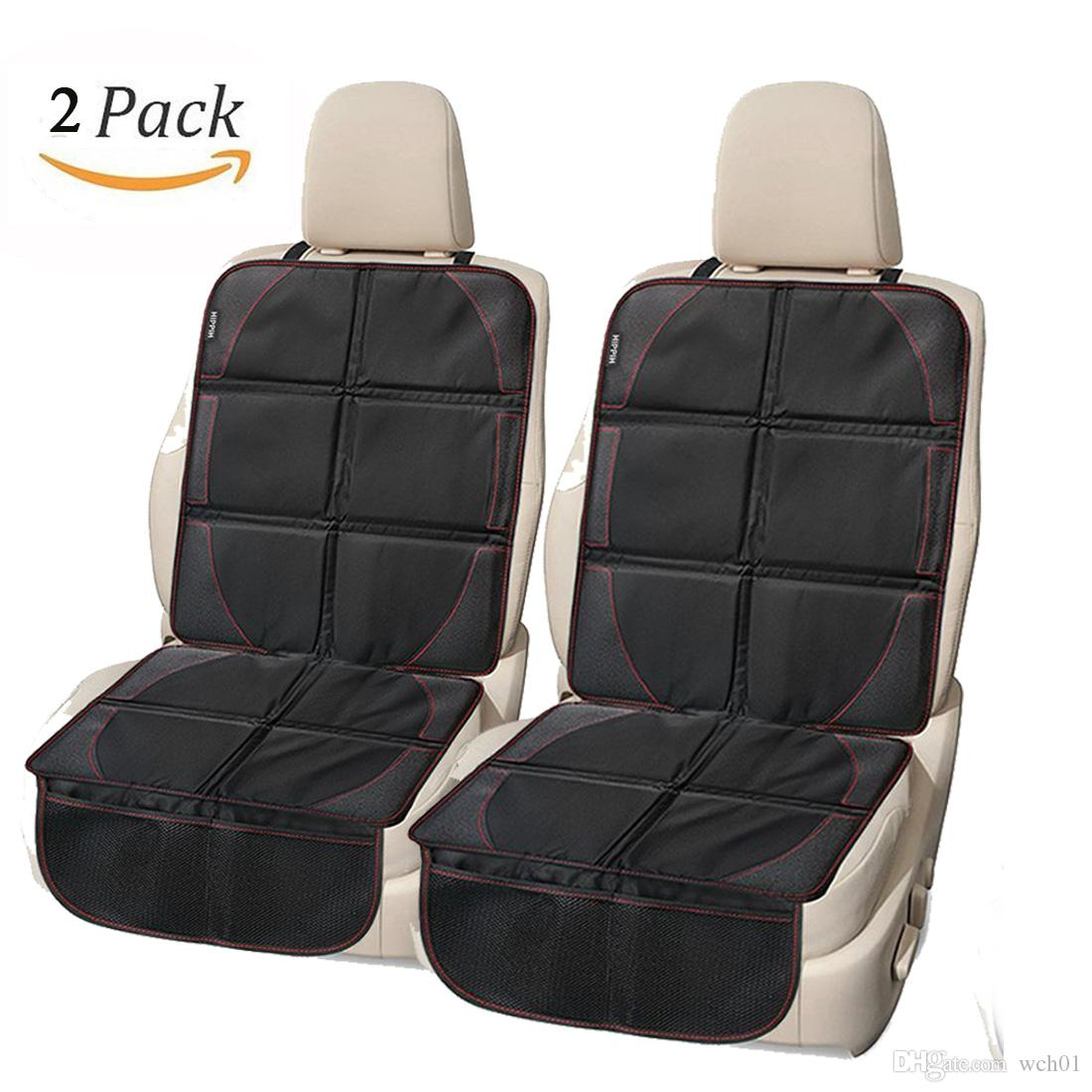 Baby Car Seat Protector Leather Velcromag