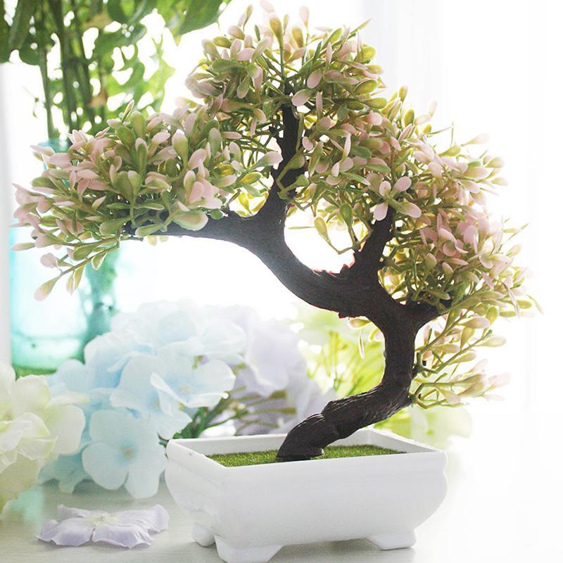 gro handel simulation umweltschutz pflanzen kiefer bonsai k nstliche blume topf gef lschte. Black Bedroom Furniture Sets. Home Design Ideas