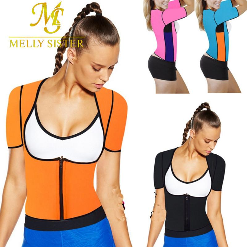 bd55a31360 2019 Hot Body Shapers Weight Loss T Shirt Hot Shapers Stretch Neoprene  Slimming Vest Fitness Body Shaper Control Vest Tops Women From Dreamcloth