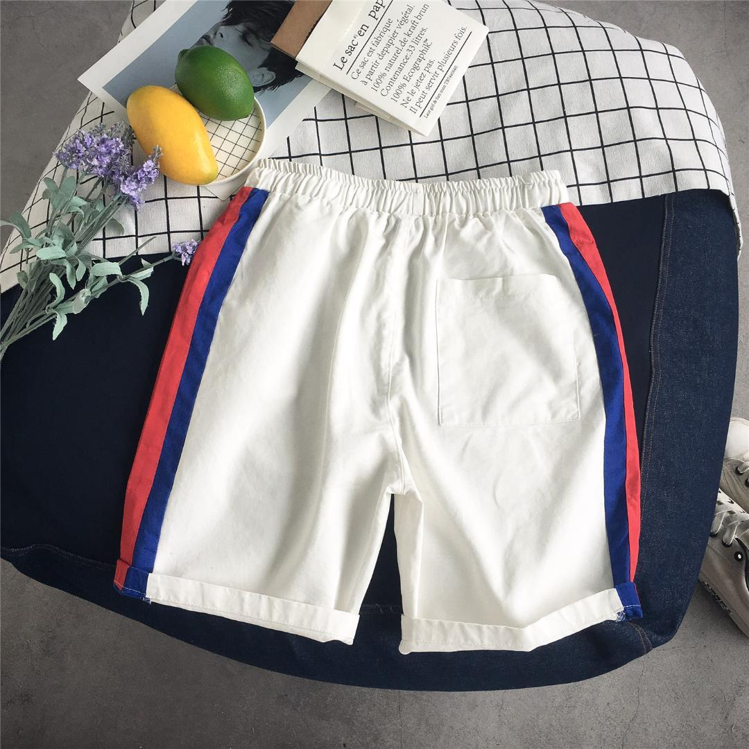33145bf92e4 2019 Casual Baggy Men Shorts Knee Length Elastic Waist Summer Loose Shorts  Beach Plus Size Short Hombre From Sandlucy