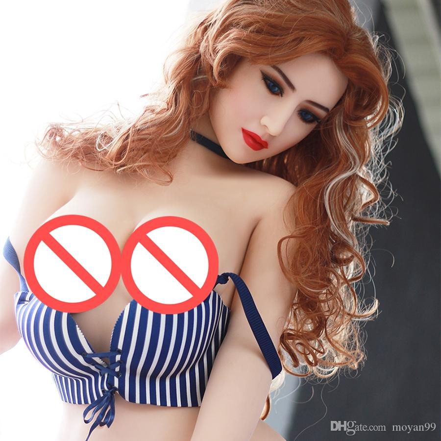 New Mold Small breast sex doll 167cm Lifelike Sex Doll With Big Ass Real Male Love Toy Adult Masturbation TPE Doll - MOYAN