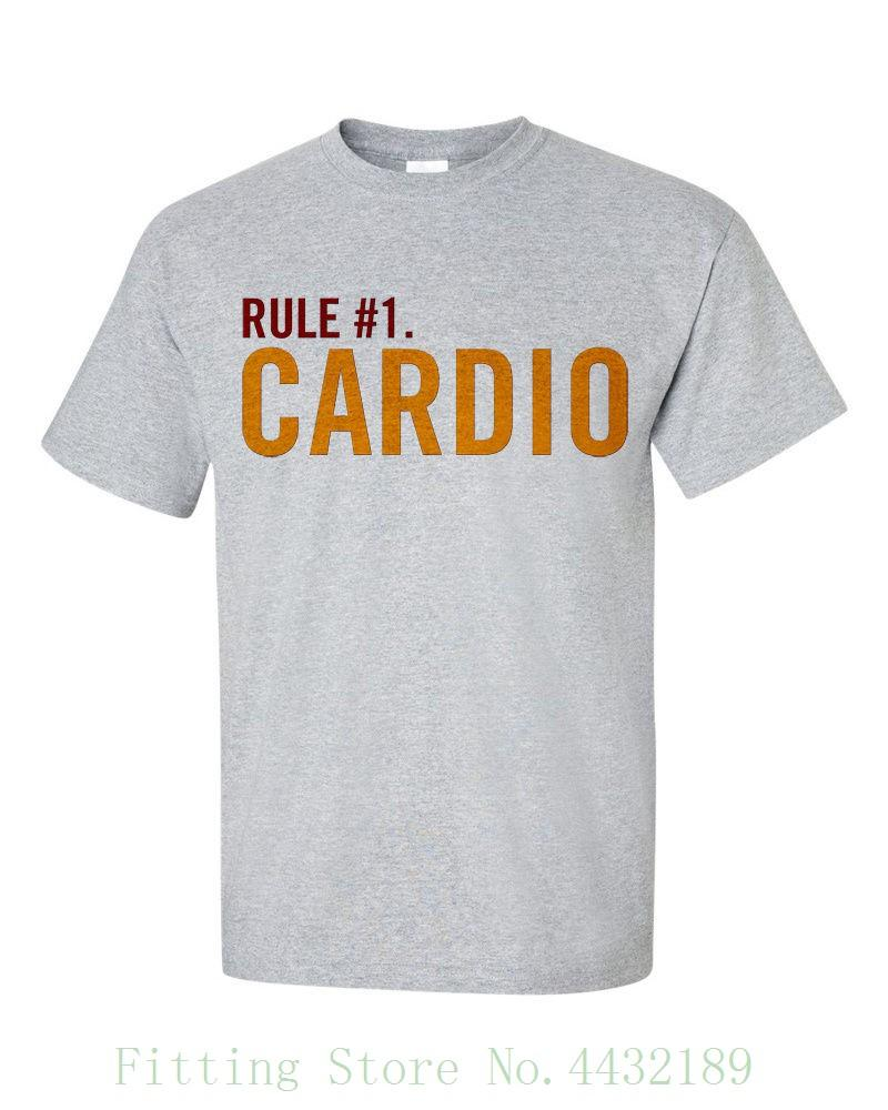 Zombieland Cardio Rule 1 Zombie T Shirt T Shirt O Neck Fashion