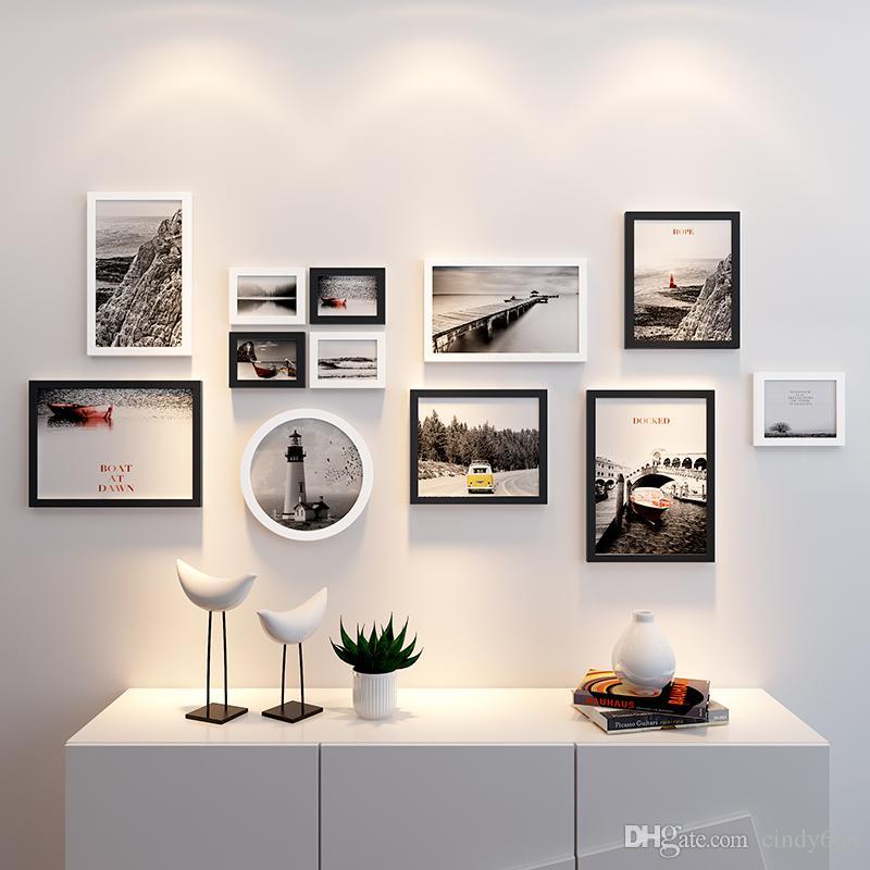Großhandel 12 Stück Bilderrahmen Für Bild Hängende Wand Bilderrahmen ...