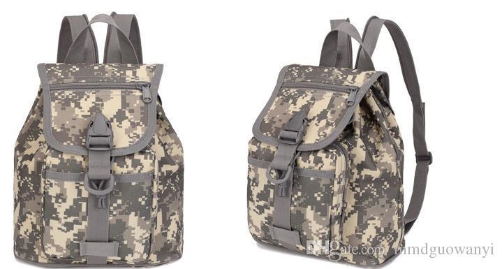 Saco de camuflagem das mulheres MINI tactical multi-função ao ar livre camuflagem mochila bolsa de ombro bolsa de ombro.