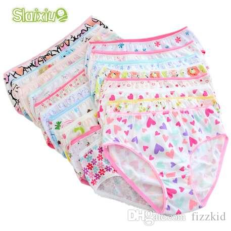 456526030a5 12 Pcs/Lot 200-Kinds Style Girls Briefs Organic Cotton Kids Baby Underwear  For Girl Children's Panties Kids Briefs Baby Clothing