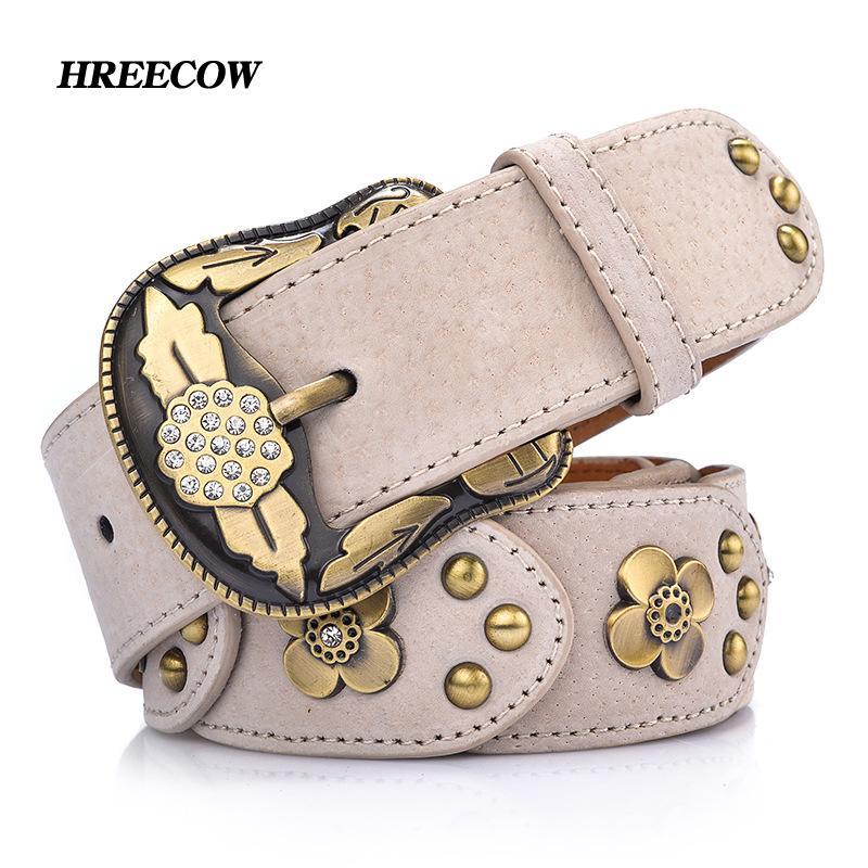 Faux Leather Rivet Inlay Ancient Belt For Women Fashion Pin Buckle Waist  Women Belts Luxury Brands Belt Female Online with  33.21 Piece on  Haolinwatch s ... 5920cbb0debe
