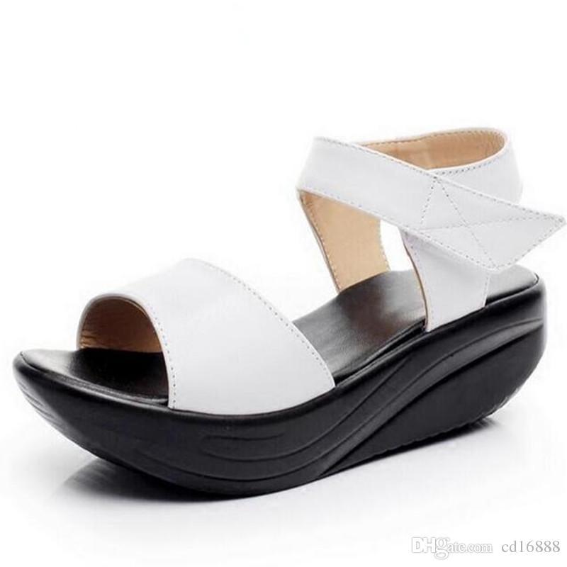 Sandalias Zapatos Mujer Compre Cuñas Venta De Caliente Plataforma vnO0wm8Ny