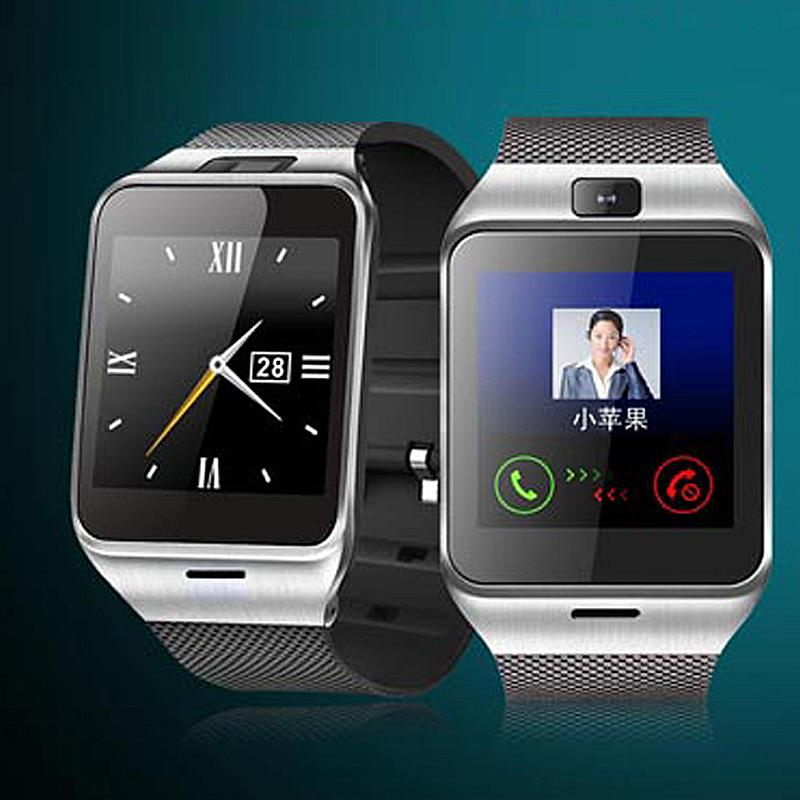 GV18 1.5 inch NFC Smart Watch With touch Screen 1.3M Camera Bluetooth SIM GSM Phone Call Waterproof for Android Phone