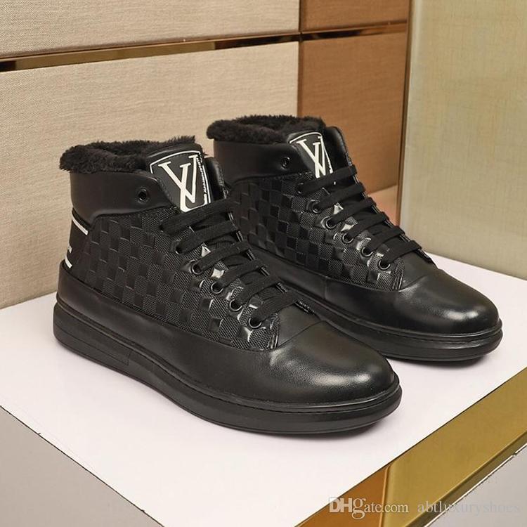 c7576a9a9e23a6 Großhandel Frankreich Männer Schuhe Herren Schuhe Freizeitschuhe L0UIS Marke  Freizeitschuh Schnürmode Mode Turnschuhe Mit Ursprungsbox Plus Samtpullover  ...