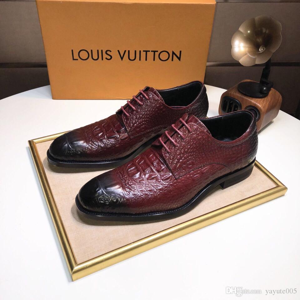 179e016e1007a2 Acheter Marque L * Hommes Chaussures En Cuir De Crocodile Hommes Bottes En  Cuir Hiver Chaud Moto Bottes 100% Réel Cuir De $98.56 Du Yayute005 |  DHgate.Com