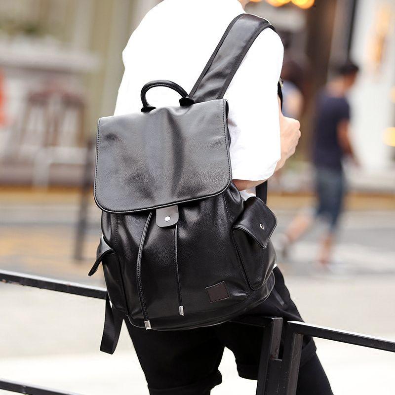 4666c75a516c 2018 Hot Sale Backpacks Designer Fashion Men Black Rucksack Bag Charms Free  Ship High Quality Luxury Brand Travel Bag Luxury Brand Backpack Travel Bags  Man ...