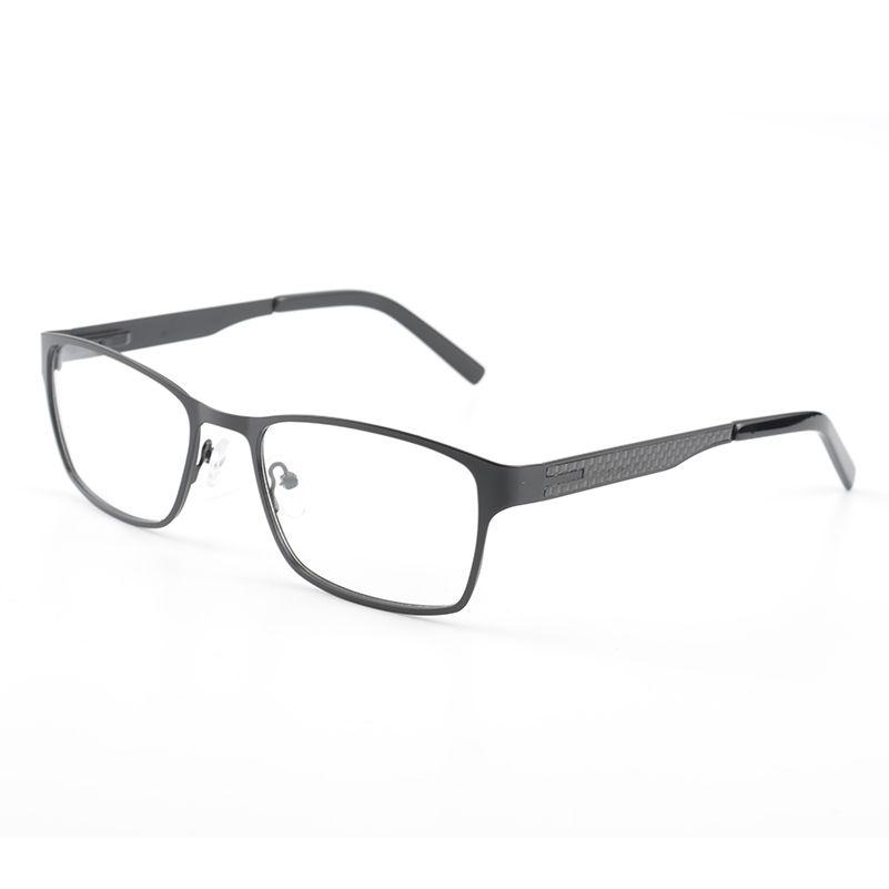 c8f939f91c30 2019 Men Metal S.S Eyeglasses Black Full Rim Optical Frame Spectacle  Rectangles Reading Myopia Mature Men Eye Glasses Frame From Hoganr