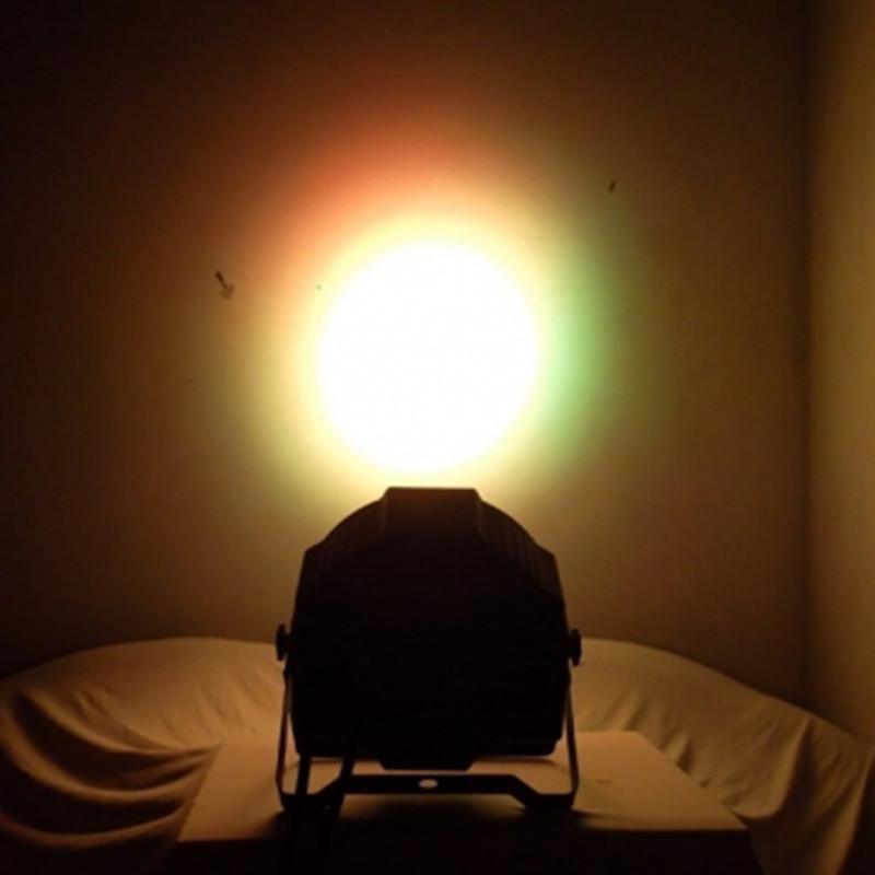 18*3W Led Stage Light High Power RGB Par Light With DMX512 Master Slave Led Flat DJ Equipments Controller,