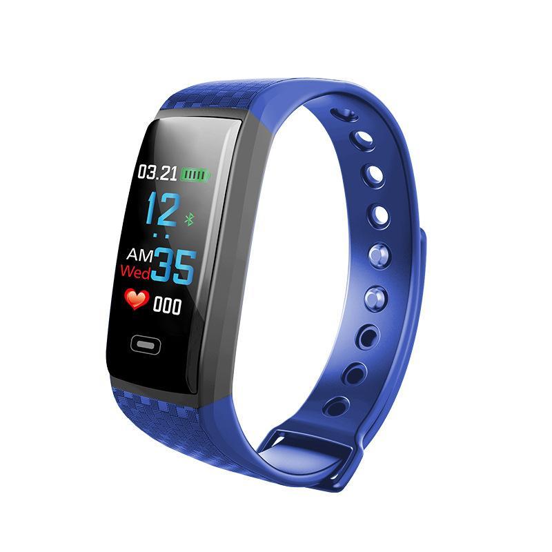 acb99fb63 Compre Pantalla En Color Relojes Inteligentes Mujer Monitoreo Del Ritmo  Cardíaco Reloj Electrónico Pareja Relojes Deportivos Hombres Marca  Impermeable Reloj ...