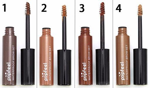NEW ARRIVAL Popfeel long lasting Eyebrow Enhancer Makeup kits Eye Tint easy Peel Off Ey Brow Gel Make Up Tattoo Gel