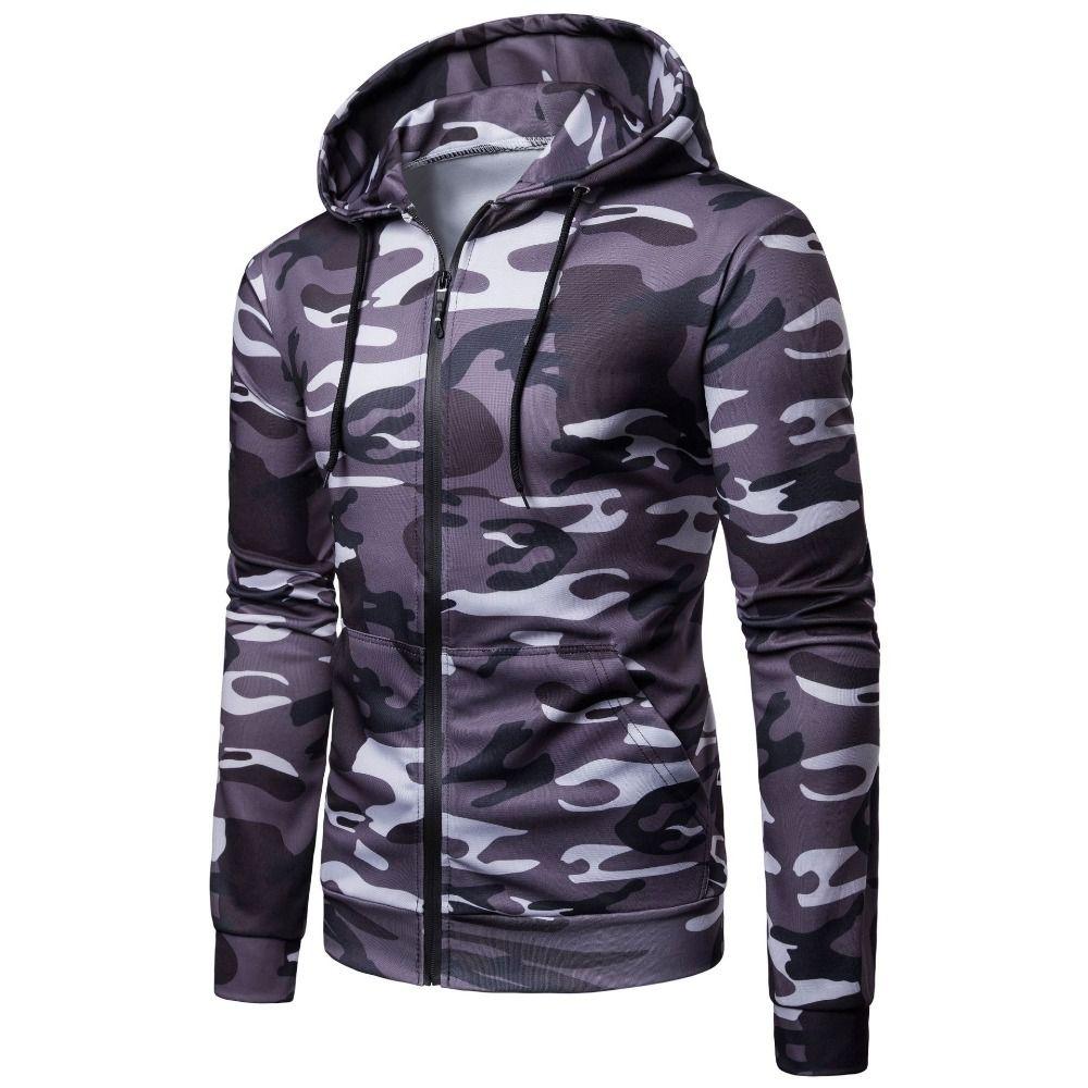 4c20055e1e Moletons com capuz dos homens 2018 nova moda outono mens estilo camuflagem  ocasional moletom com capuz do exército moletom masculino hoodies do ...