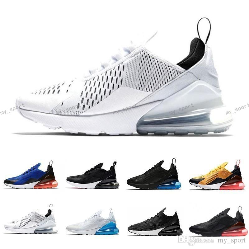 3da33739066360 2018 Air Sole Mens 270 KPU Running Shoes 270s Hot Punch Triple Black White  Oreo Teal Photo Blue Sports Sneakers 36-45 Online with  73.14 Piece on  My sport s ...