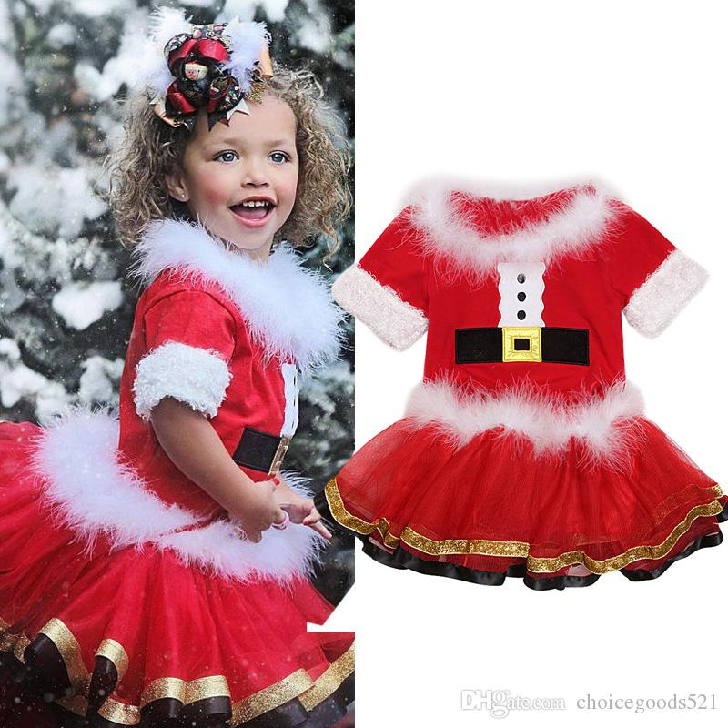 baby-toddler-christmas-outfit-girl-short.jpg - 2019 Baby Toddler Christmas Outfit Girl Short Sleeve Top + Skirt