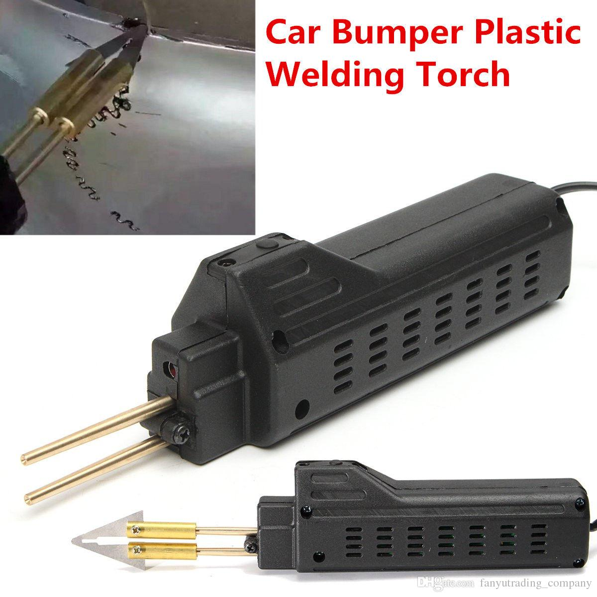 2019 Professional Hot Stapler Plastic Repair System Welding Gun Bumper Fairing Auto Body Tool Plastic Welder + 200 Staples