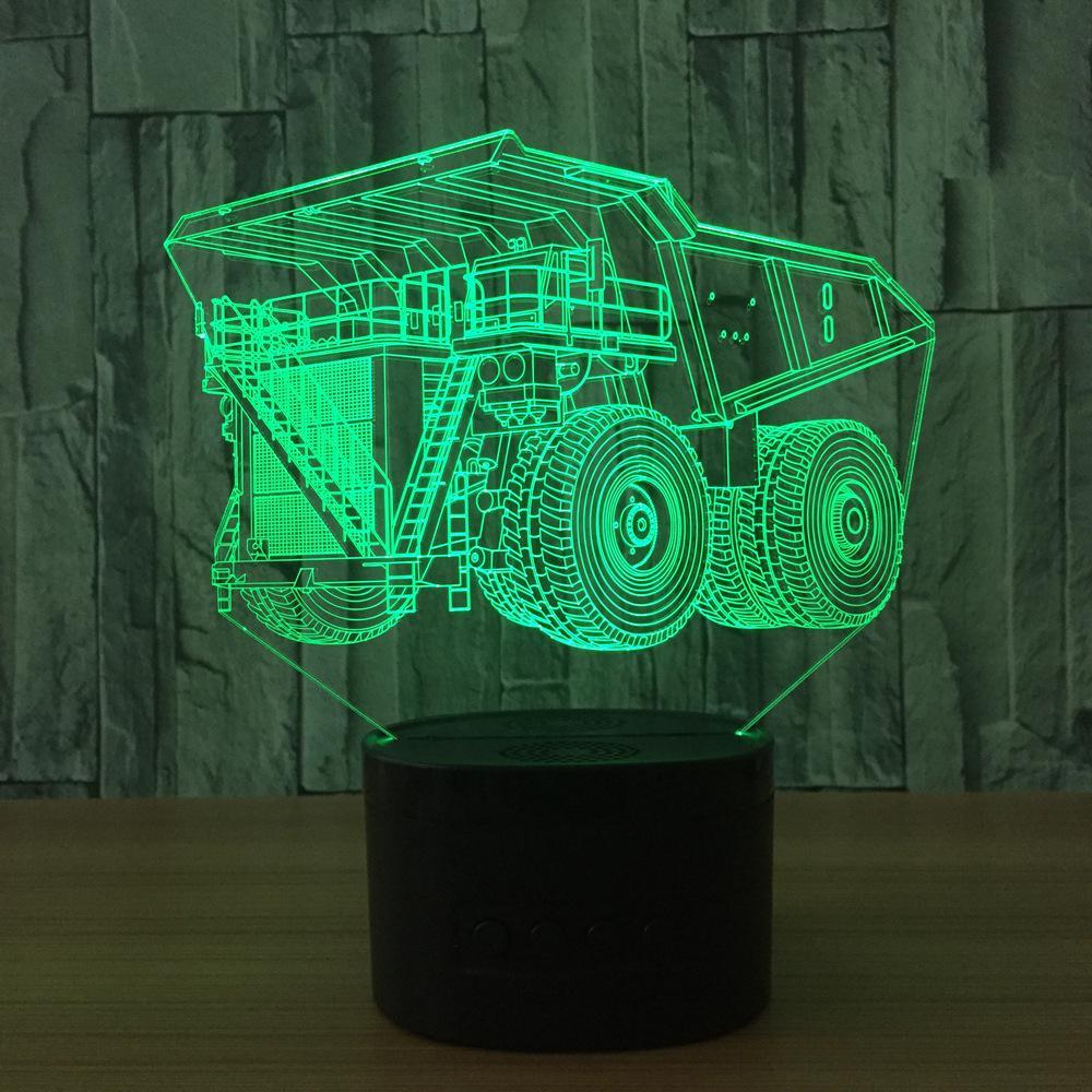 2019 Change 3d Desk Lamp Lampe De Chevet De Chambre Table Lamps For