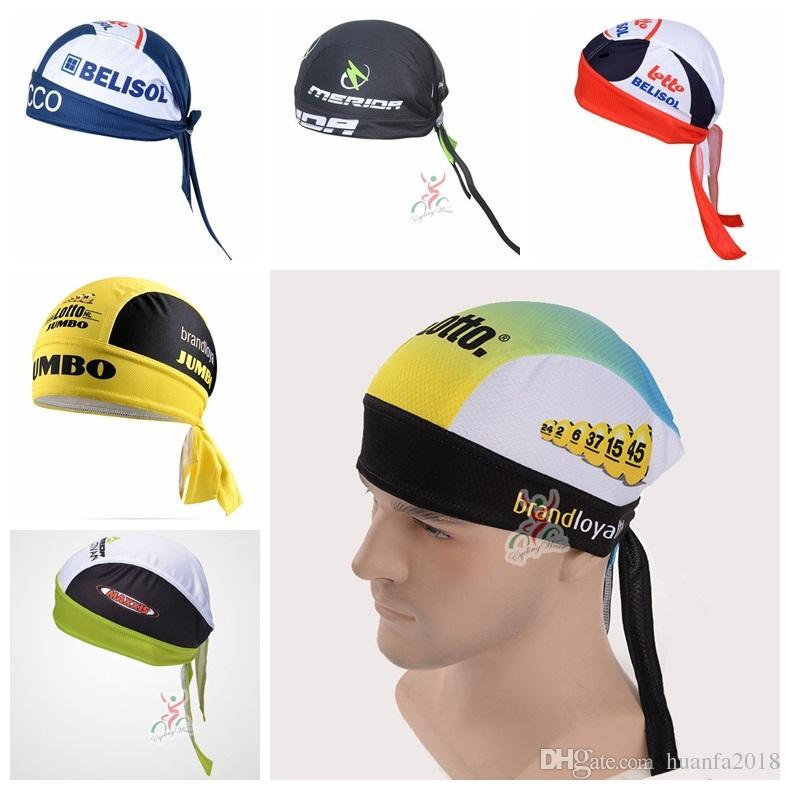 02a0700bb LOTTO Jumbo LOTTO Soudal MERIDA Team Outdoor Bicycle Sport Hats Bike ...
