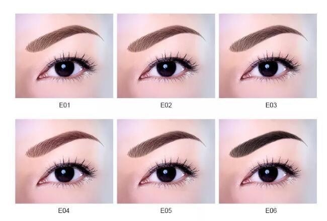 Eyebrow Enhancers New Arrivals Professional Eyebrow Gel 6 Colors High Brow Tint Makeup Eyebrow Brown