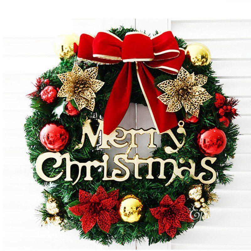 Ghirlande Di Natale.50pcs Decorazione Di Natale Ghirlanda Di Pvc Finto Appeso Ghirlanda Di Nozze Decorazioni Per La Casa Fiori Decorativi Ghirlande Seta Peonia Vite