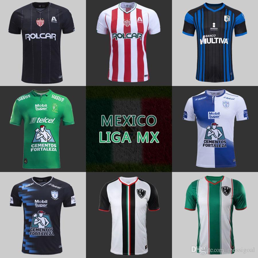 Top AAA Mexico Liga MX Jersey 18 19 CLUB LEÓN NECAXA PACHUCA QUERETARO  Cuervos De Ensenada Futbol Camisa High Thailand Quality Fast Shipping UK  2019 From ... d12174731bc67