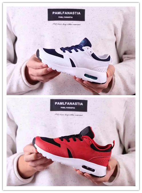 low priced 8942c c0a98 Acheter Nike Air Max Airmax 87 Sneakers Garçons Filles 2017 2018 87 Tavas  Camouflage Bébé Enfants RUNNING Chaussures 100% D origine Tout Noir 87 Thea  Sport ...