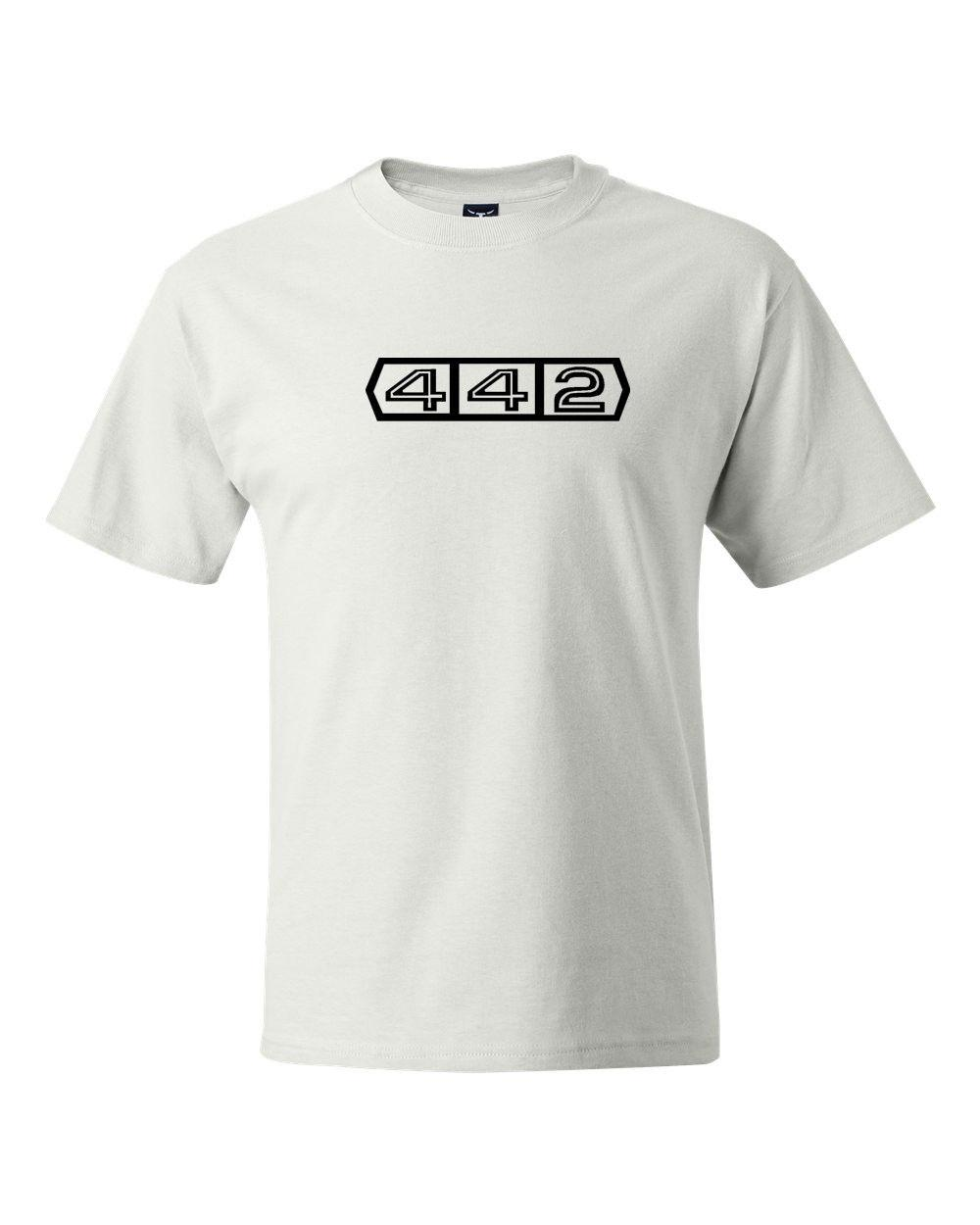 7683d402 Oldsmobile 442 Classic Vintage Car Logo T Shirts S 5XLFunny Unisex Casual  Tshirt Gift T Shirt Awesome Shirt Design From Allin1cases, $12.96|  DHgate.Com