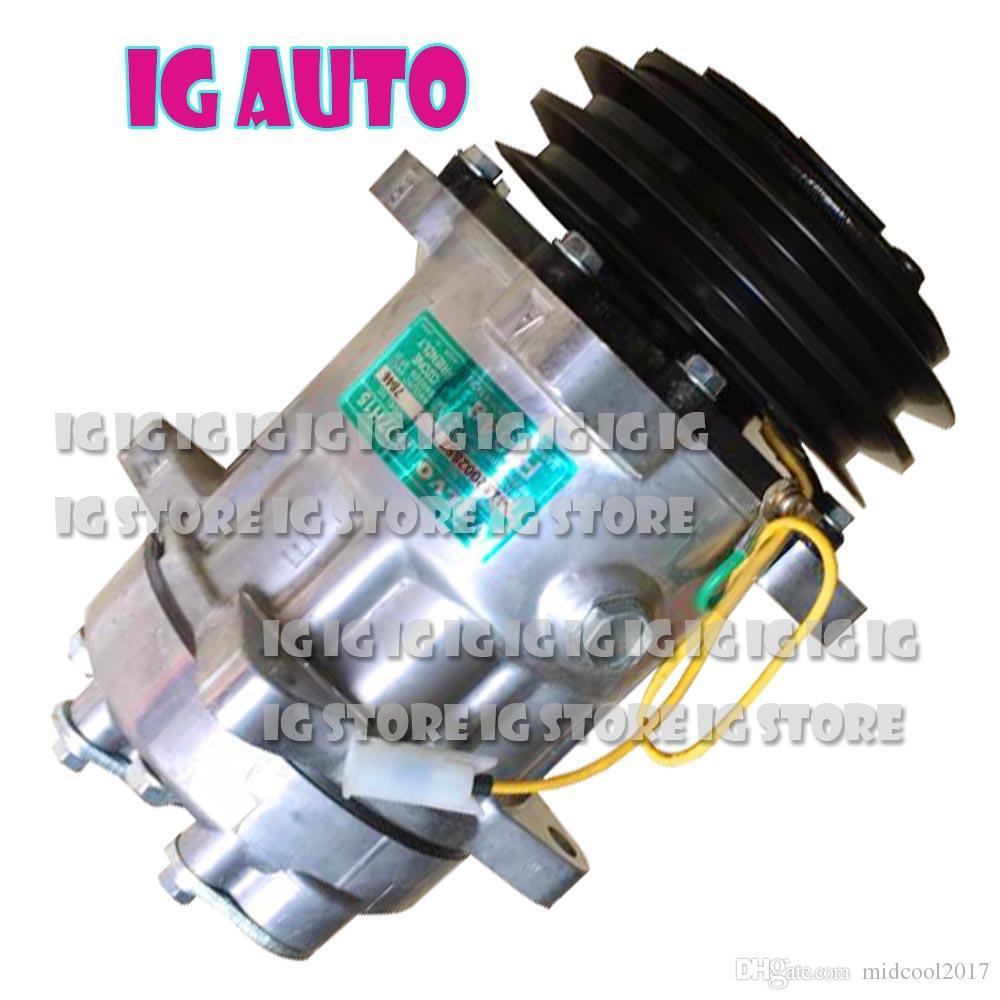 Haute Qualité Nouveau Pour Volvo Car 7H15 Climatiseur Compresseur Pompe Avec Poulie 11104419 11412632 15082742