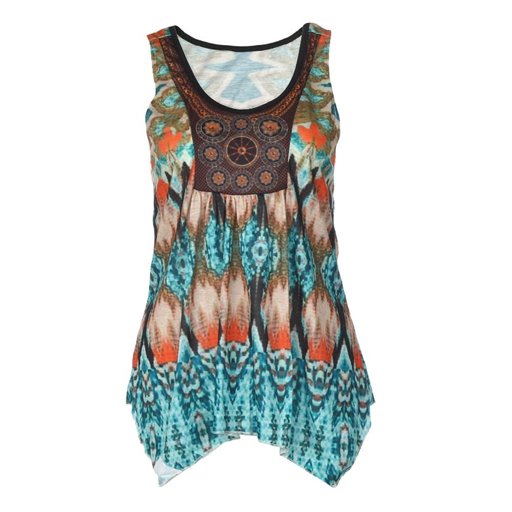 0ffeebd15561fe Best Sale Women Ank Top Summer Printing Hot Girl Vest Top Sleeveless Casual  Tank Tops Female Tops Vest Ladies Clothing Online with  27.75 Piece on ...