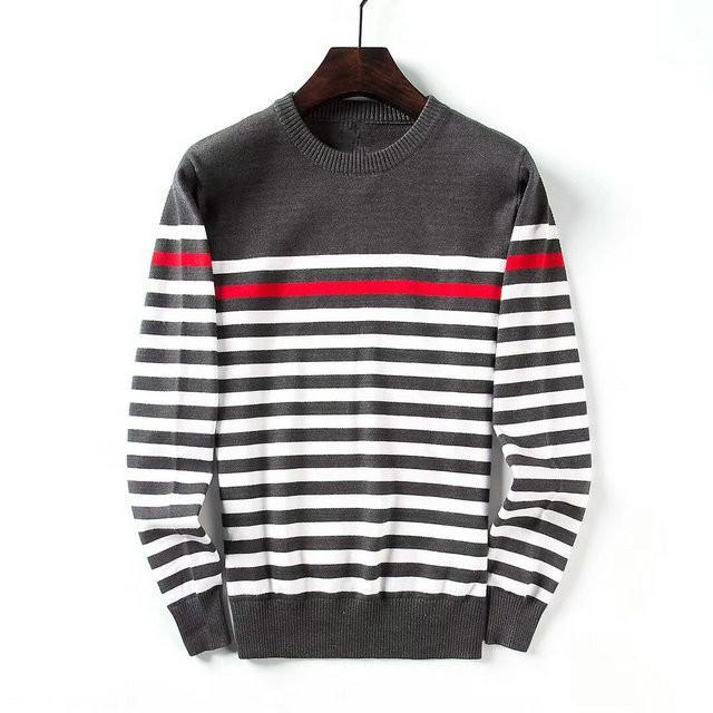 811f6ce37df6a0 Großhandel O Neck Pullover Männer Marke Kleidung 2018 Herbst Winter Neue  Ankunft Cashmere Wolle Pullover Männer Casual Striped Pull Lc9282 Von  Vanilla01