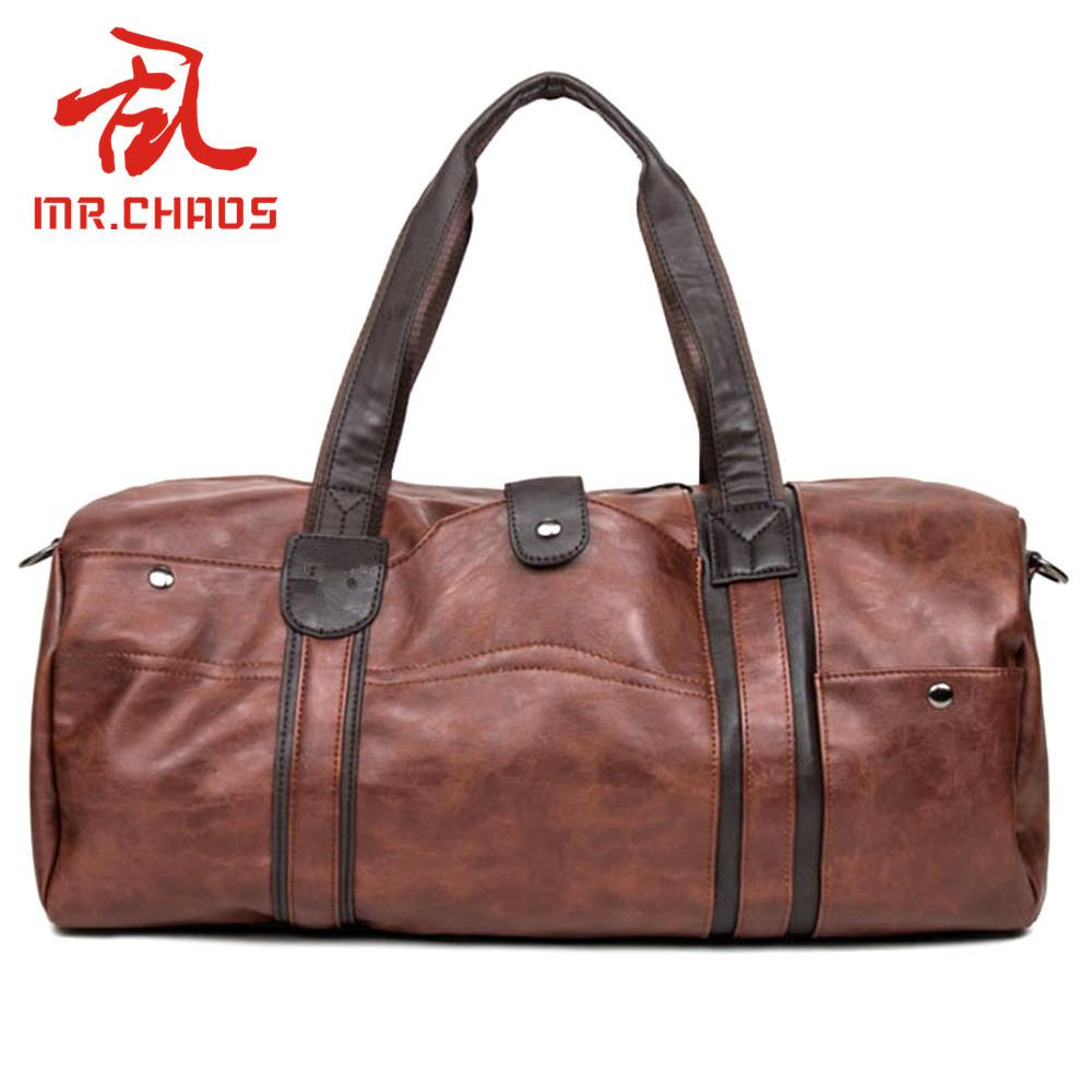 f0c8cf4277fd 2019 Men  S Retro PU Leather Sports Bag Gym Bag Fitness Sport Bags Duffel  Tote Travel Shoulder Handbag Male BG001 From Lvmangguo