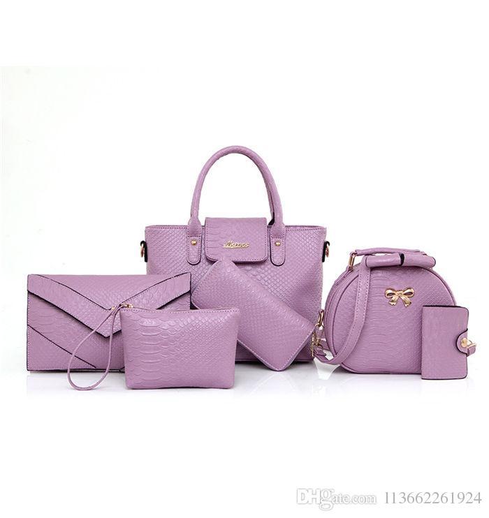 Designer Handbags Crossbody Bag Alligator Set 2018 Brand Fashion ... 85c3f2deb50ad