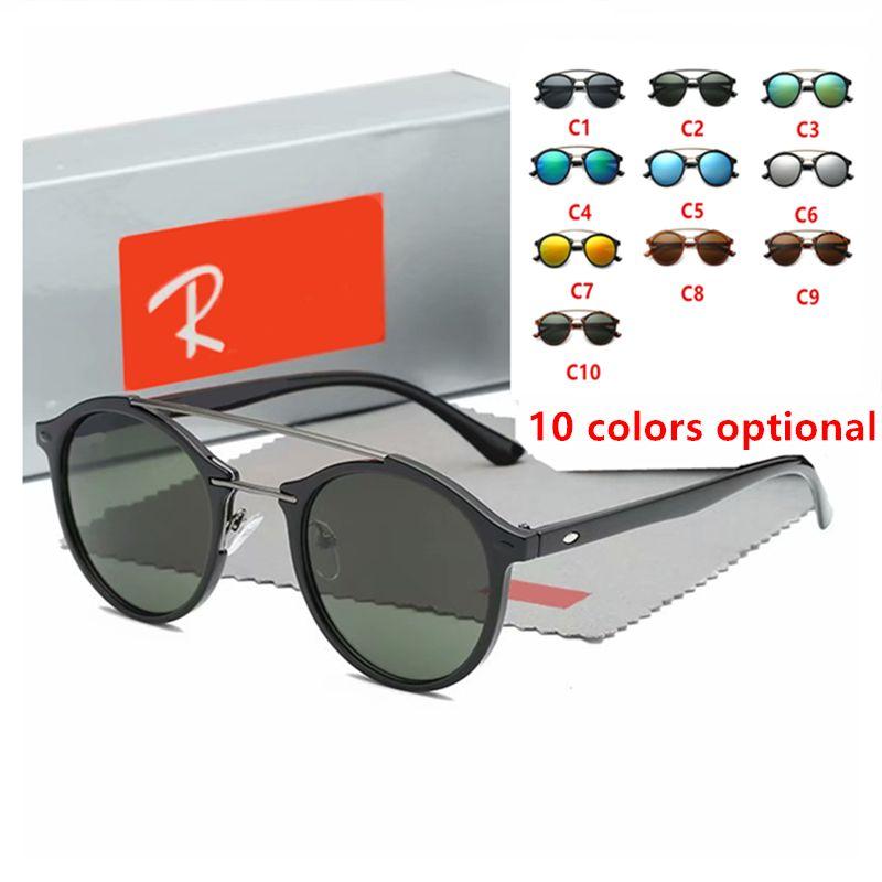 Fashion Sun Glasses Retro Glasses Brand Design Round Frame UV400 Goggle  Fashion Glasses