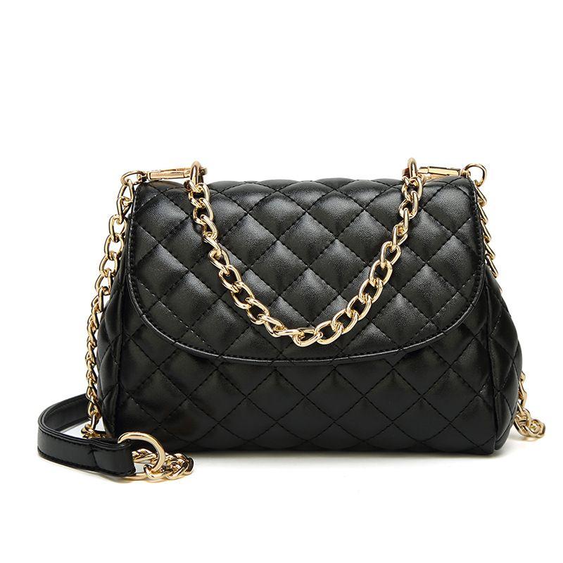 Luxury Handbags Women Bags Designer Crossbody Bags Rhombus Chain Shoulder  Ladies Messenger Bag Long Strap Female Clutch Ladies Purses Fashion Bags  From ... faec4543a30fa
