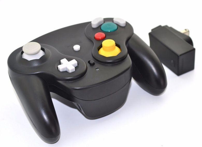 2.4 Ghz Wireless Game Controller Gamepad Para Gamecube NGC Wii Wii U Interruptor com adaptador