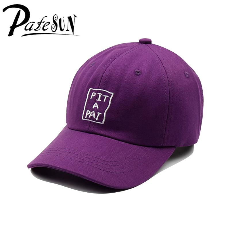 Patesun s Women New Baseball Caps Elegant Dynamic Purple Hat Letters  Embroidery Men s Hat Casual Ladies Girl Caps Baby Caps 47 Brand Hats From  Buafy b3067c94d38