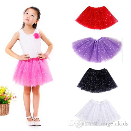 Girls Breathtaking Toddler Ballet Tutu Fancy Princess Fairy Dress Up Dance Wear Costume Party Kids Skirt