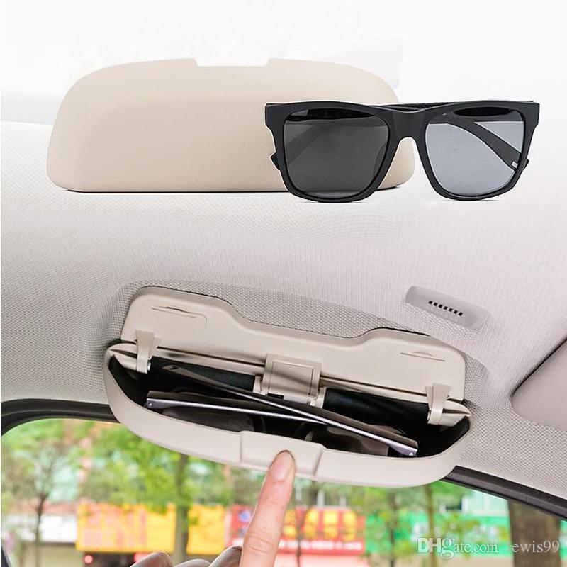 Car Styling Gafas de sol de almacenamiento Estuche para BMW 1 3 5 7 series X1 X3 X5 X6 F30 F31 F34 E90 E92 F10 F18 F11 F07 GT Z4 F15 F16 F25 E60 E61