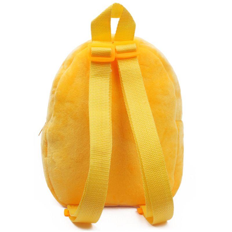 New Animal Yellow Duck Plush Toddler Shoulders Bag Kids Baby School Bags Cartoon Cute Backpacks Accessories