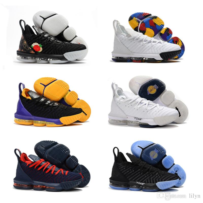 494721358e2f Kids 16s Basketball Shoes Lakers Oreo 1 THRU 16 Children Big Boy Trainers  Sports Designer Sneakers Shoes Size Eur 36 40 46 Boys Sports Shoes Running  Shoes ...